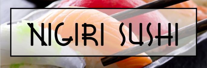 Nigiri sushi titre