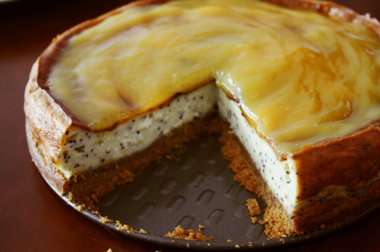 Cheesecake vanilla lemon poppy seeds2
