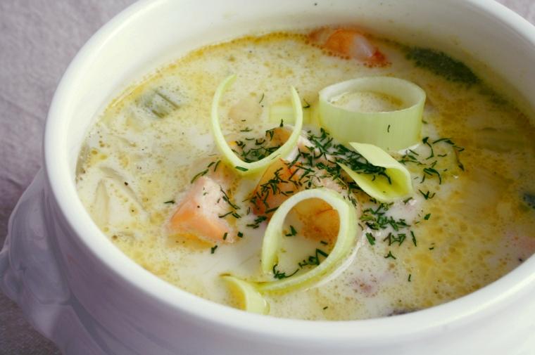 Seafood chowder1