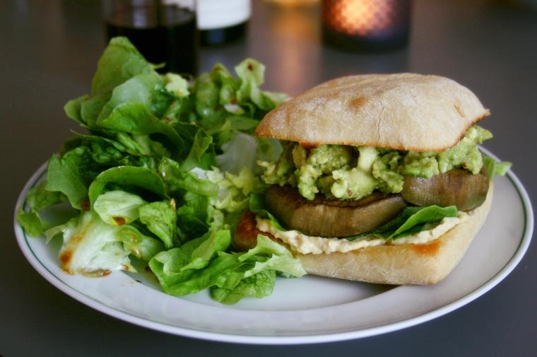 Burger vegan2