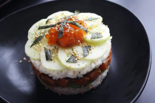 Sushi cake3
