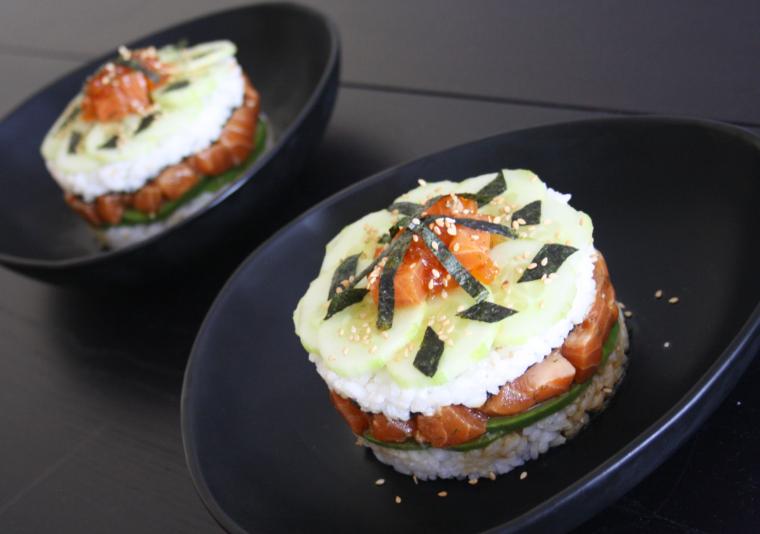 Sushi cake4