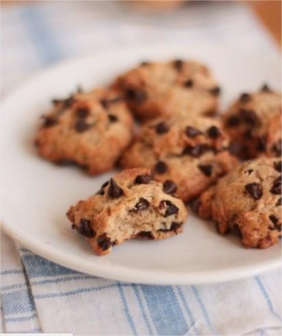 cookies-moelleux-chocolat-banane-vegan
