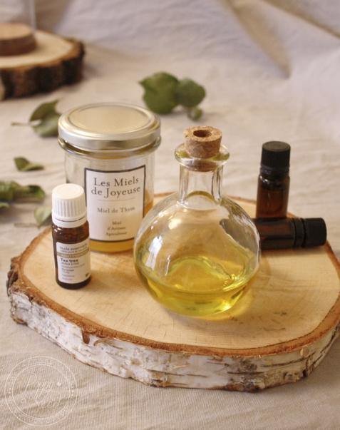 Bain d'huile cheveux1