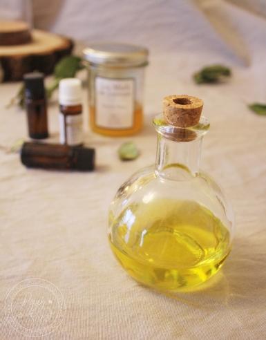 Bain d'huile cheveux2