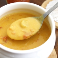 Soupe butternut aux saint jacques