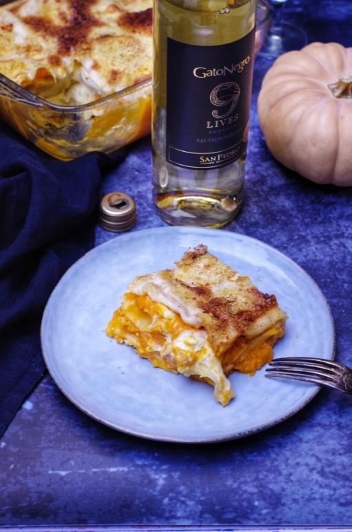 lasagnes chèvre butternut